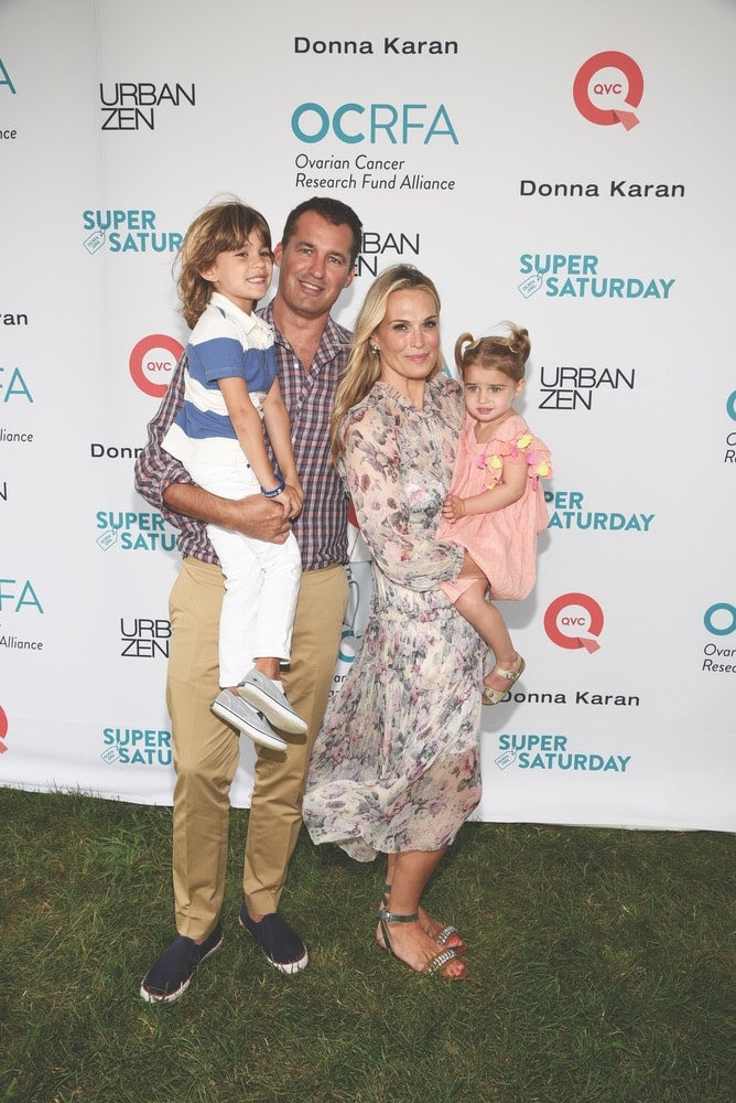 celebrities, Scott Stuber, Molly Sims, Brooks Alan Stuber, Scarlett May Stuber, OCRFA, Ovarian Cancer Research Fund Alliance, Super Saturday, Watermill, New York