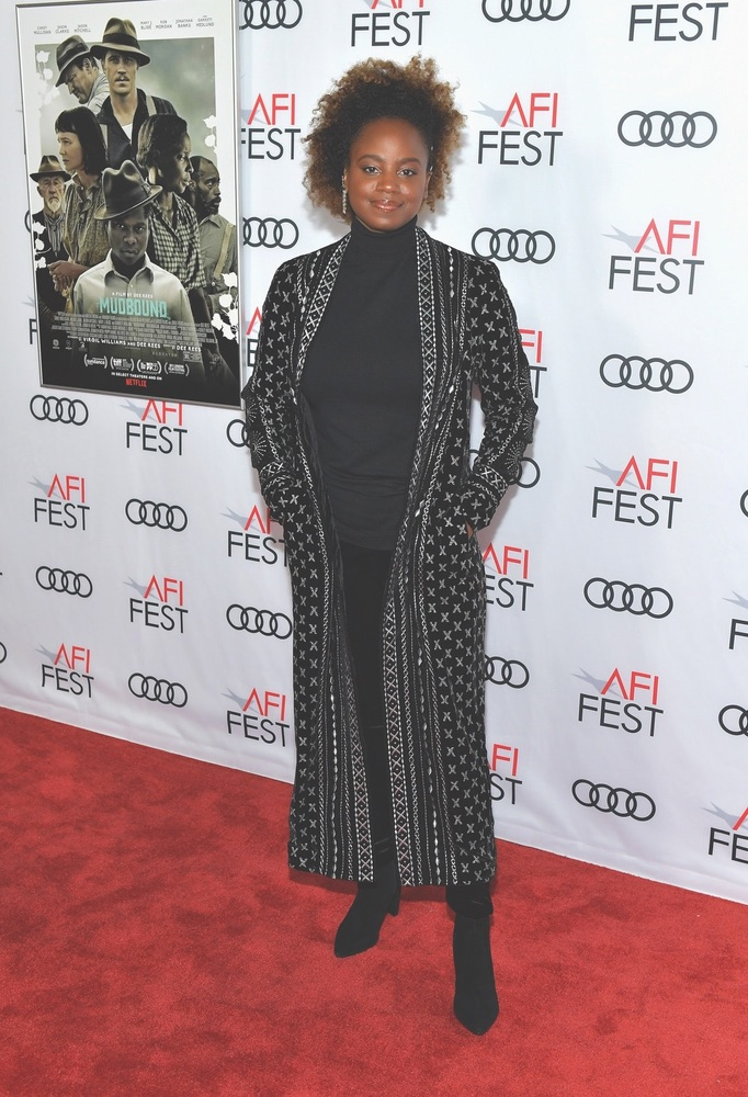 Arts Culture and Entertainment, celebrities, Netflix, Mudbound, AFI FEST 2017, Audi, TCL Chinese Theatre, American Film Institute, Dee Rees
