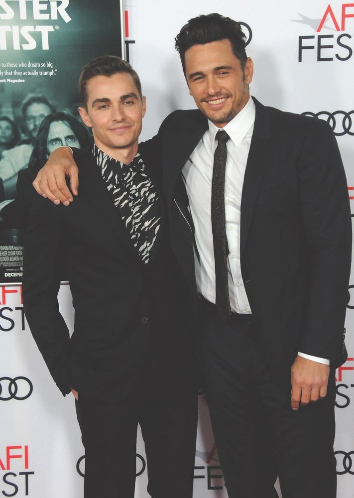 Arts Culture and Entertainment, celebrities, The Disaster Artist, AFI FEST 2017, Audi, Hollywood Roosevelt Hotel, American Film Institute, Dave Franco, James Franco