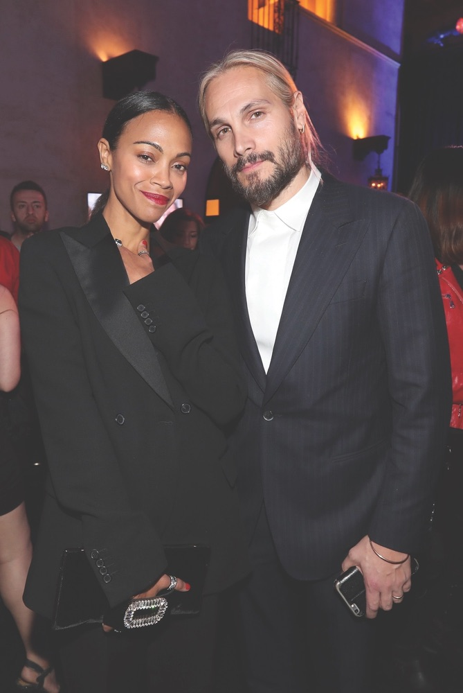 Arts Culture and Entertainment, celebrities, Hostiles, AFI FEST 2017, Audi, TCL Chinese Theatre, American Film Institute, Zoe Saldana, Marco Perego