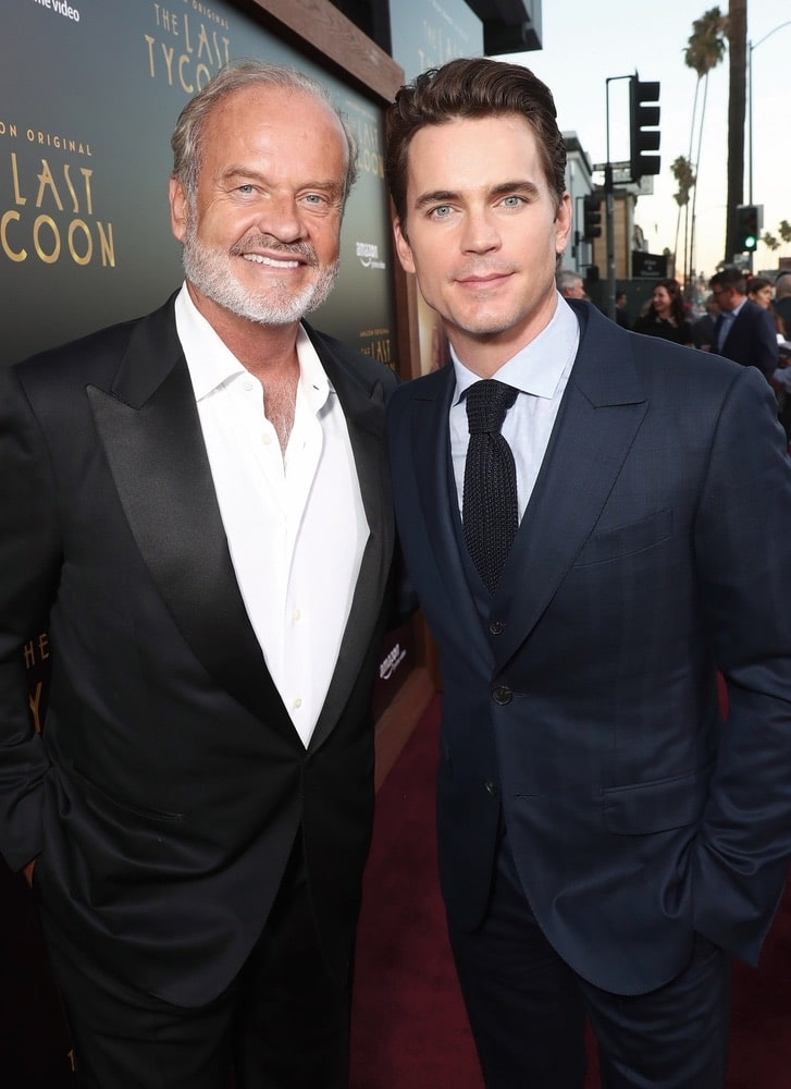 Arts Culture and Entertainment, celebrities, topics, topix, bestof, toppics, toppix, Amazon, Amazon Prime Video, The Last Tycoon, Harmony Gold Theatre, Los Angeles, California, Kelsey Grammer, Matt Bomer