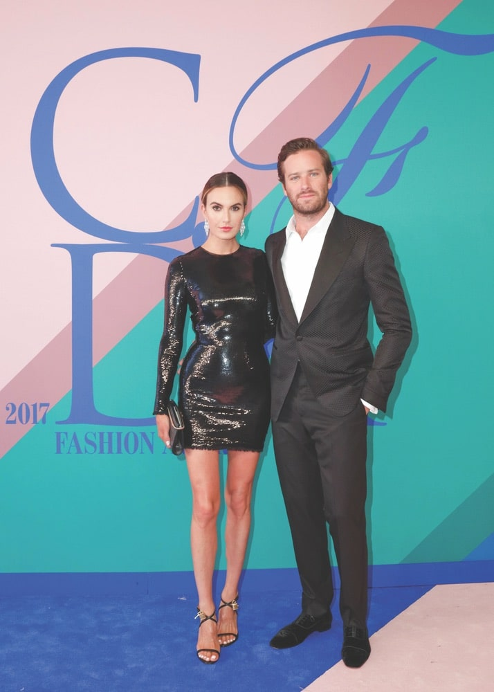 CFDA, CFDA Fashion Awards, New York, New York City, Manhattan, Swarovski, The Manhattan Center's Hammerstein Ballroom, The Manhattan Center, Elizabeth Chambers, Armie Hammer