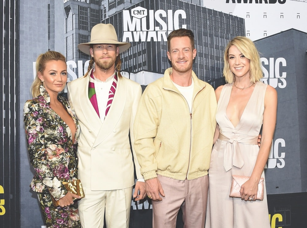 Brittney Marie Cole, Brian Kelley, Tyler Hubbard, Florida Georgia Line, Hayley Stommel, CMT Music Awards, CMT, Music City Center, Nashville, Tennessee