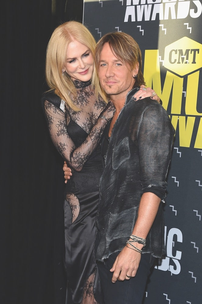 CMT Music Awards, CMT, Music City Center, Nashville, Tennessee, Nicole Kidman, Keith Urban