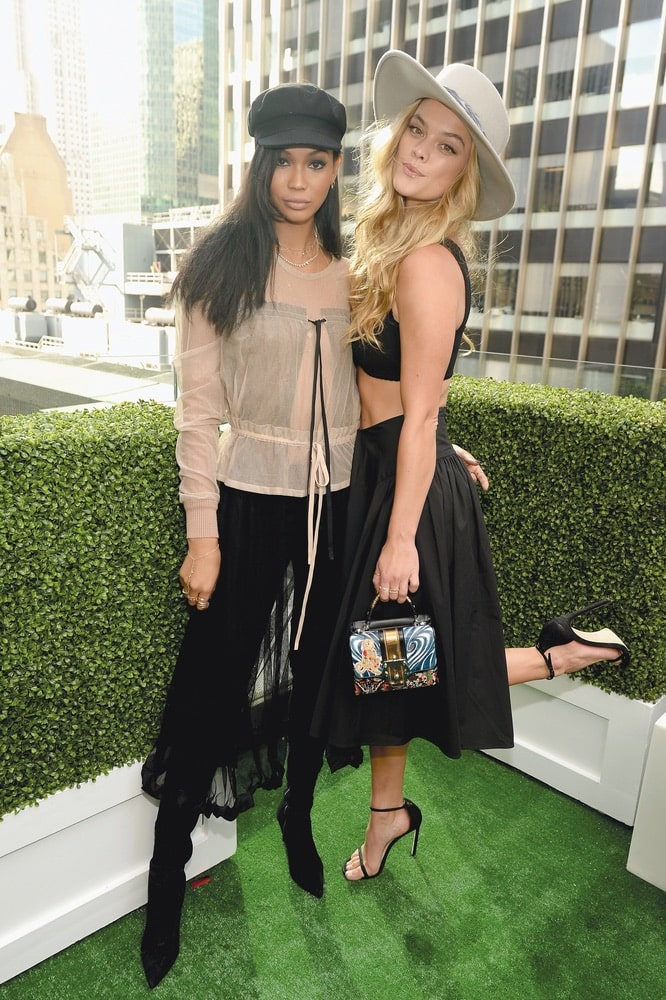 Arts Culture and Entertainment, Chanel Iman, Nina Agdal, New York City, Kentucky Derby, G.H. Mumm