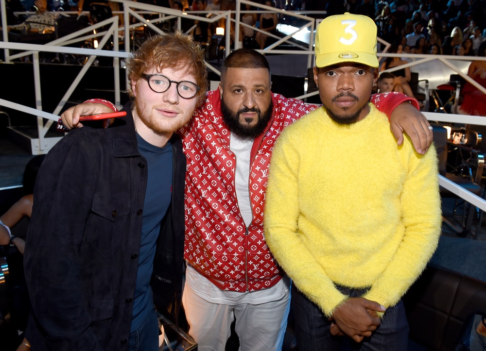 VMA 2017, VMA2017, Arts Culture and Entertainment, celebrities, music, Fashion, Awards Ceremony, MTV Video Music Awards, MTV, Video Music Awards, The Forum, Ed Sheeran, DJ Khaled, Chance The Rapper