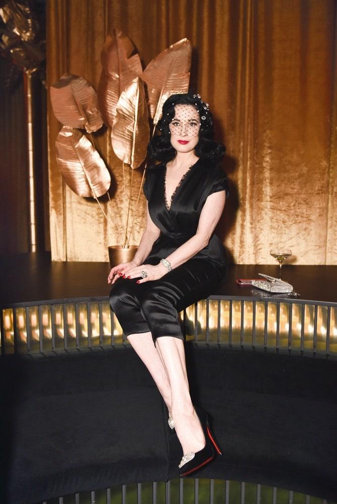 Panthère de Cartier, Cartier, Milk Studios, Los Angeles, Dita Von Teese