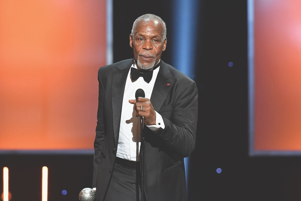 49th NAACP Image Awards, NAACP, NAACP Image Awards, Pasadena, California, WireImage, Danny Glover, President's Award, Pasadena Convention Center