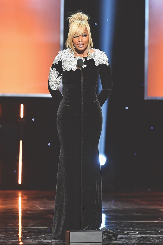 49th NAACP Image Awards, NAACP, NAACP Image Awards, Pasadena, California, WireImage, Mary J. Blige, Pasadena Convention Center