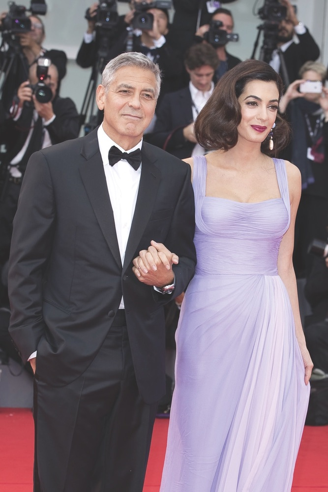 Suburbicon, Venice Film Festival, George Clooney, Amal Clooney