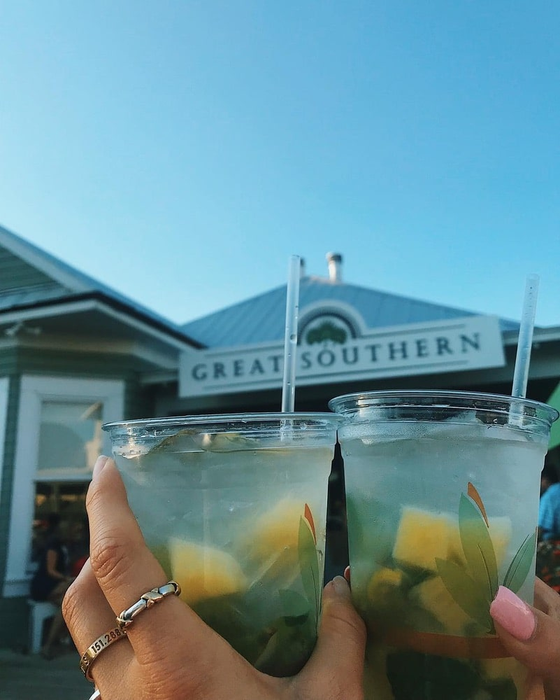 Great Southern Cafe, Seaside Florida, Seaside Beach, Seaside FL, 30A Happy Hour, ACE at the Beach
