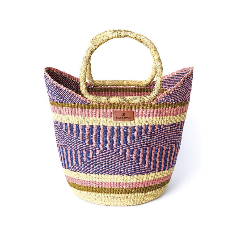 Lola & Mawu Bolga Shopping Basket