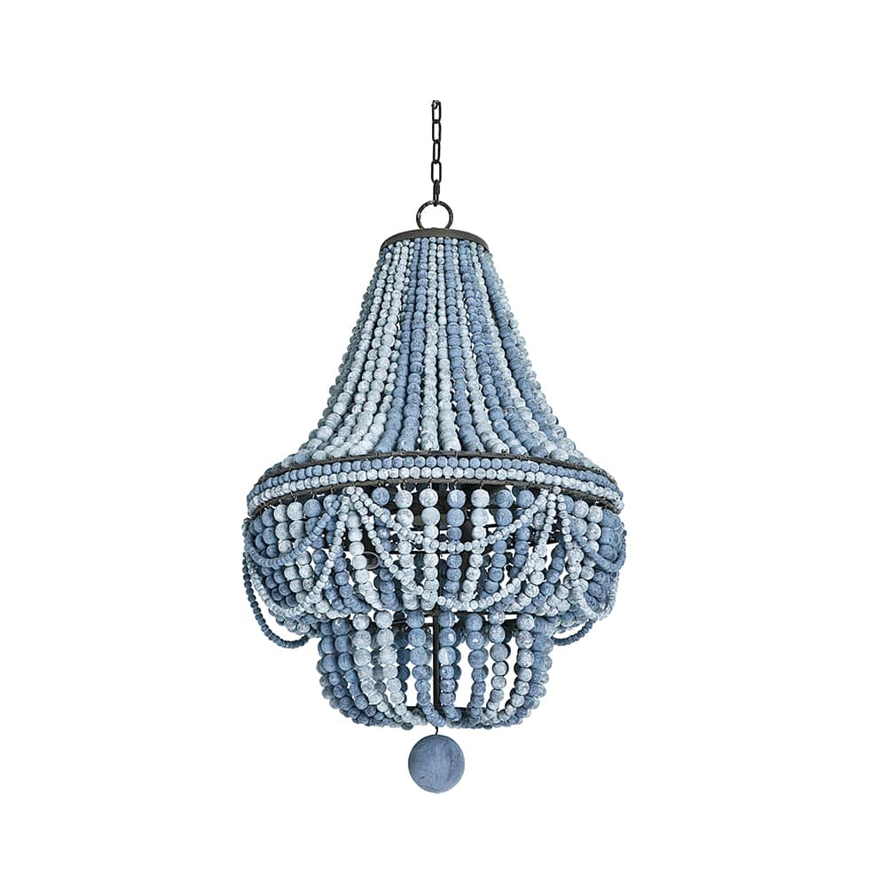 Regina Andrew Malibu Chandelier in Blue
