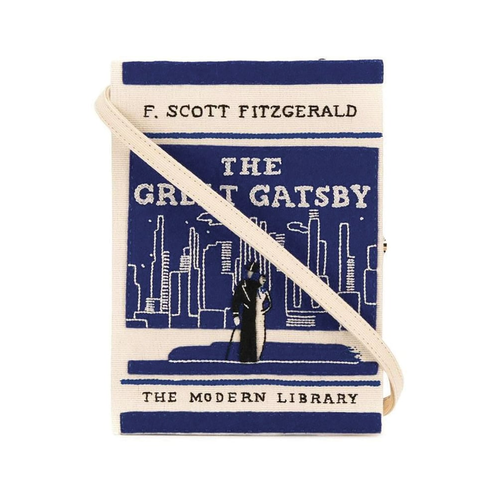Olympia Le-Tan Limited Edition The Great Gatsby Book Clutch with Strap