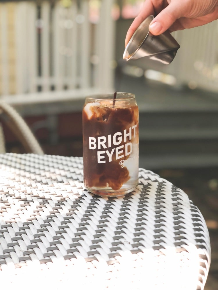 An iced coffee from Bright-Eyed Brew Co. is the perfect pick-me-up! | Photo courtesy of Bright-Eyed Brew Co.