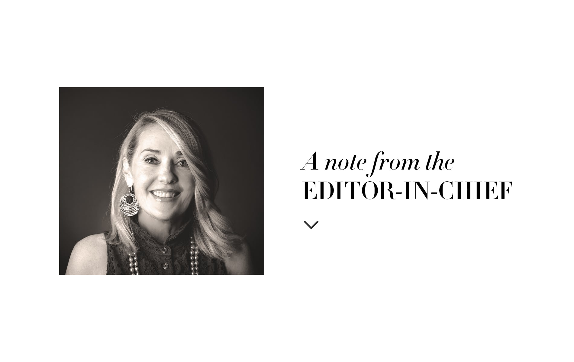 Lisa Burwell, Editor-in-Chief, editors note, VIE Magazine August 2019 Architecture & Design Issue