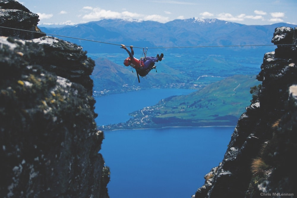 Competitors in New Zealand's Southern Traverse adventure race don't know the course they'll take—or even if they'll be crossing a gorge by rope—until the prerace briefing. | Photo by Chris McLennan/New Zealand Tourism
