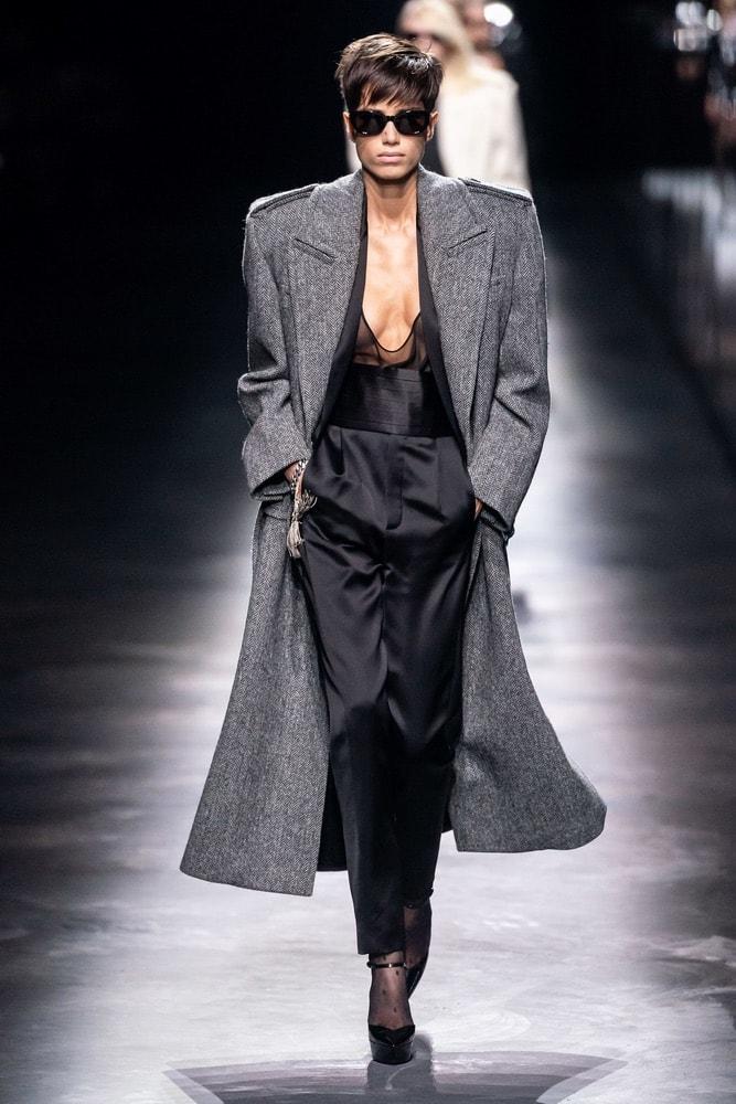 saint laurent, saint laurent f/w19, saint laurent fall/winter 2019, runway fashion, paris fashion week