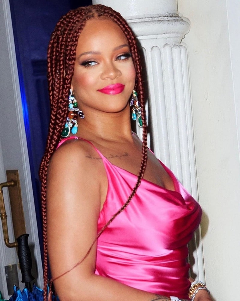 2019 Hair Trends, braid hair trend, Instagram, rihanna