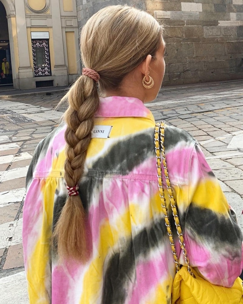 2019 Hair Trends, braid hair trend, Instagram