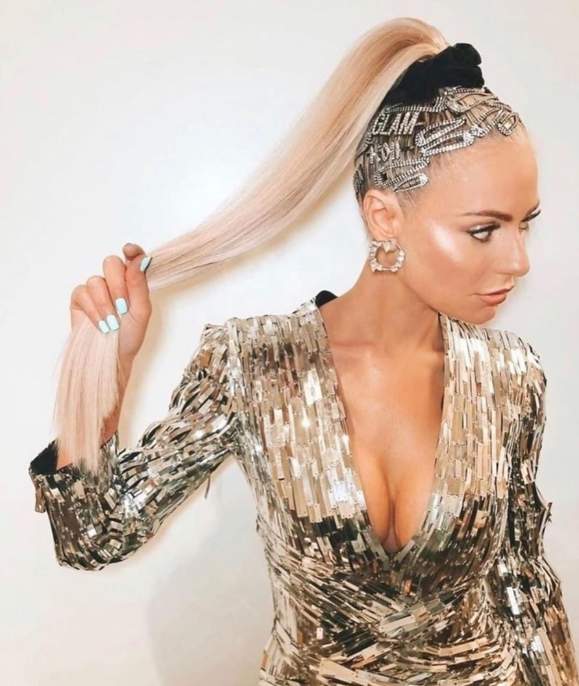 2019 Hair Trends, hair clips trend, Instagram, dorit kemsley