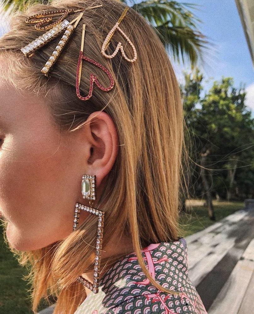 2019 Hair Trends, hair clips trend, Instagram