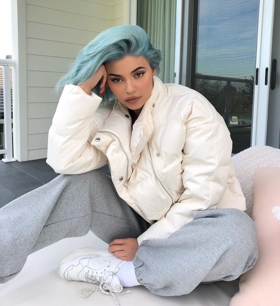 2019 Hair Trends, Kylie Jenner, pastel hair color, Instagram