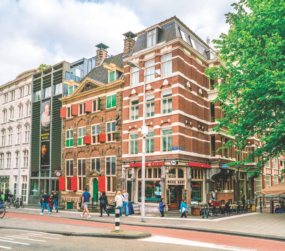 The Rembrandt House Museum in the old Jewish quarter of Amsterdam celebrates the 350th death anniversary of the Dutch master this year.