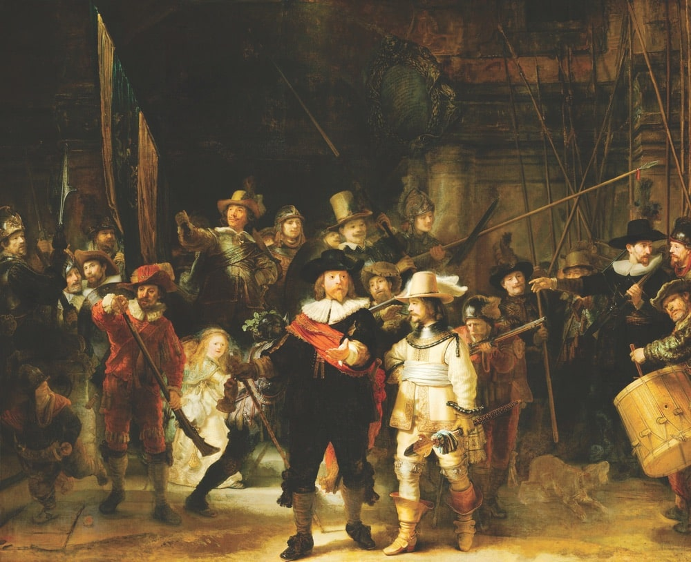 holland rembrandt festival, The Night Watch by Rembrandt van Rijn, 1642