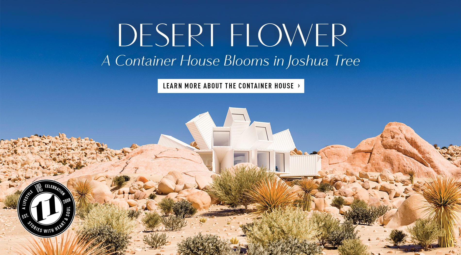 VIE Magazine - August 2019 - The Architecture and Design Issue - Joshua Tree Container House