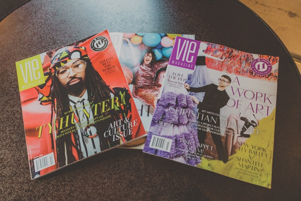 VIE Magazine, CANVAS Dallas, Ty Hunter, Amirah Kassem, The Flour Shop, Christian Siriano, The Curated NYC