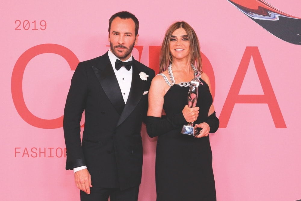 CFDA, CFDA Awards, 2019 CFDA Awards, Council of Fashion Designers of America, Brooklyn Museum, New York City, NYC, New York, Tom Ford, Carine Roitfeld