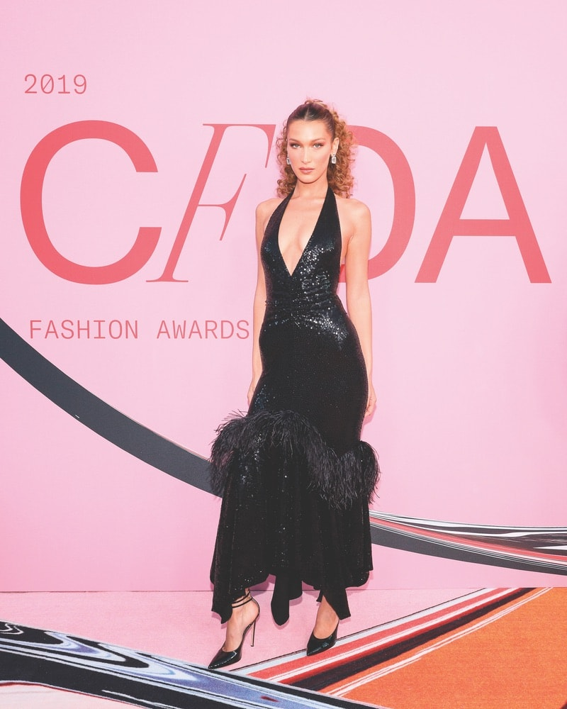 CFDA, CFDA Awards, 2019 CFDA Awards, Council of Fashion Designers of America, Brooklyn Museum, New York City, NYC, New York, Bella Hadid