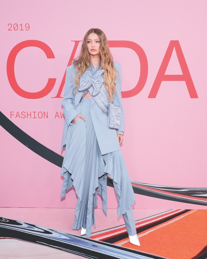 CFDA, CFDA Awards, 2019 CFDA Awards, Council of Fashion Designers of America, Brooklyn Museum, New York City, NYC, New York, Gigi Hadid