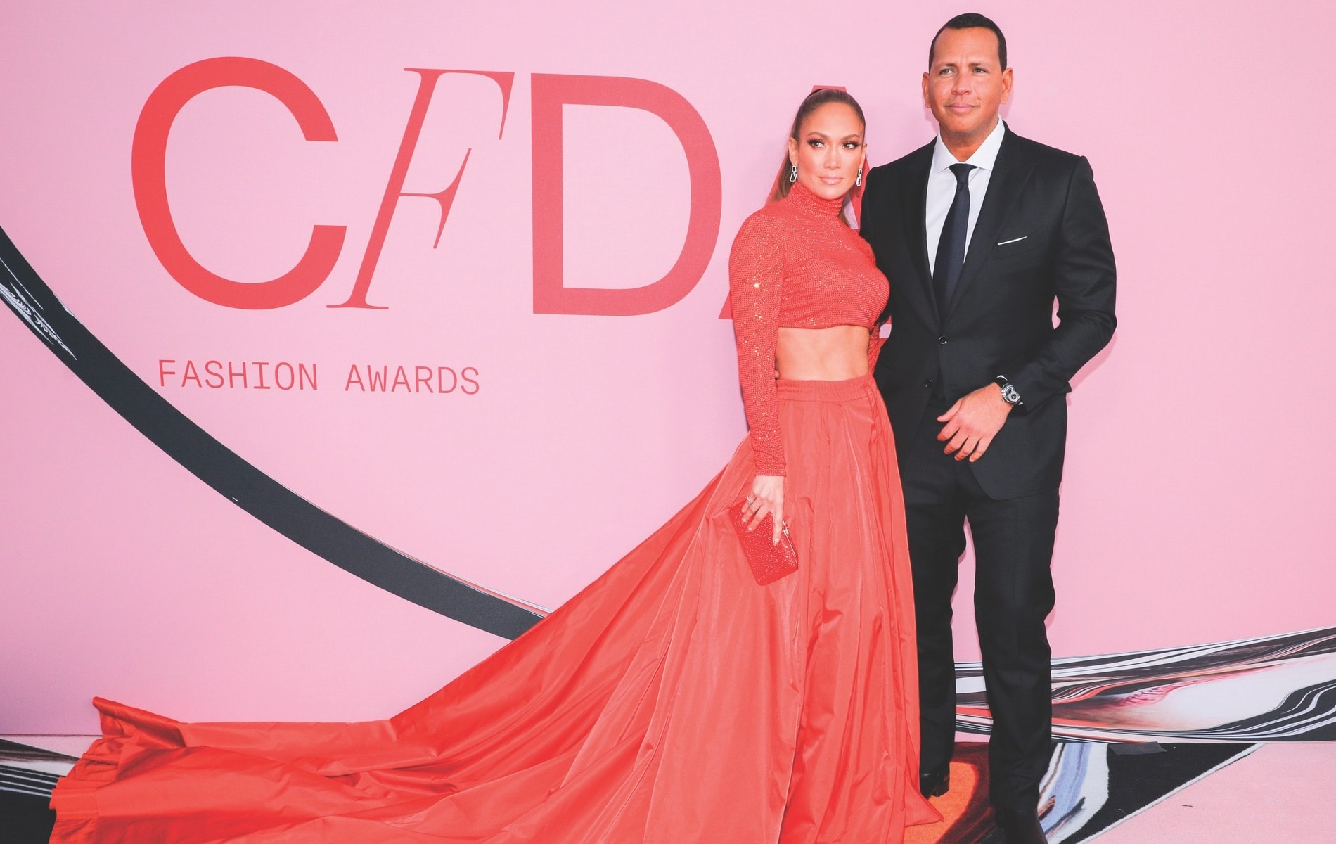 CFDA, CFDA Awards, 2019 CFDA Awards, Council of Fashion Designers of America, Brooklyn Museum, New York City, NYC, New York, Jennifer Lopez, Alex Rodriguez