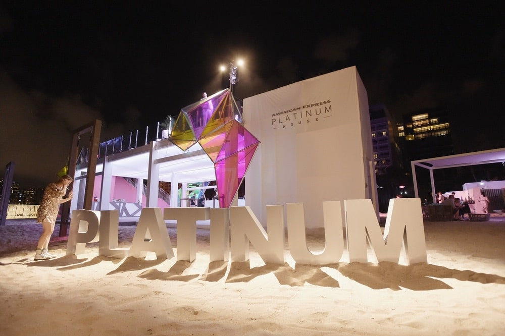 Arts Culture and Entertainment, Miami, Miami Beach, American Express, American Express Platinum, American Express Platinum House, Miami Art, Miami Art Week