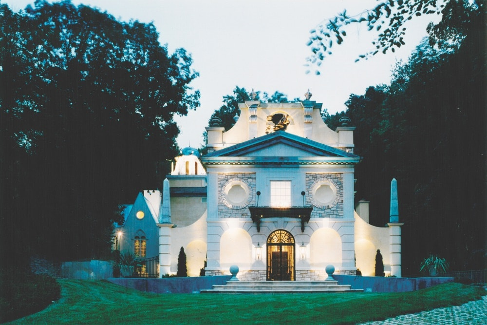 The Newington-Cropsey Foundation Gallery of Art in Hastings-on-Hudson, New York, was designed by Cook and Peter J. Polites and completed in 1994. Its Palladian-style structure includes a grand rotunda, gallery hall, and wrought iron exterior doors and canopy.