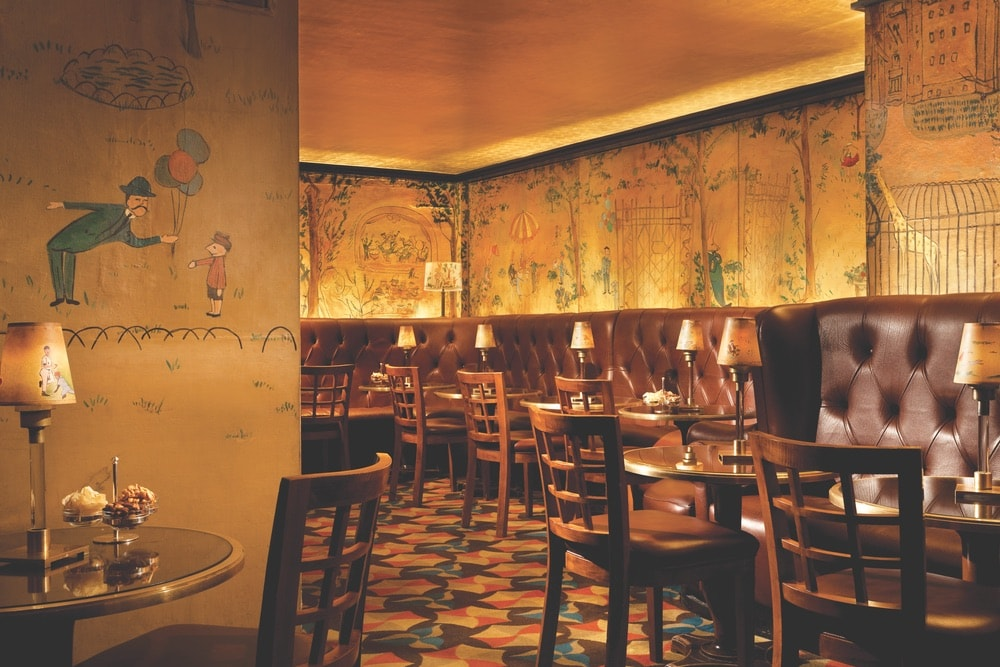 Ludwig Bemelmans's classic murals draw people worldwide to Bemelmans Bar inside the Carlyle, hotel, new york