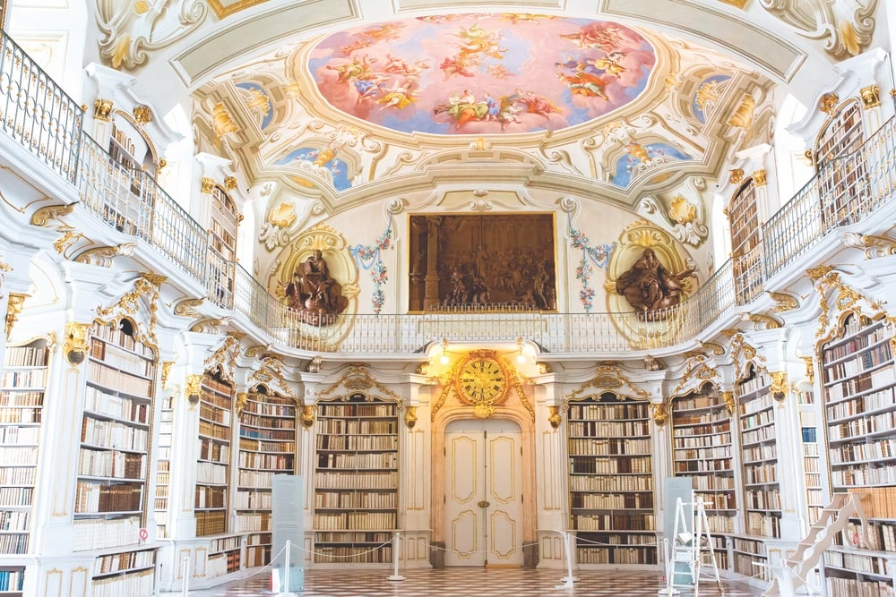 Admont Abbey Library, The Readers Corner VIE Book Club
