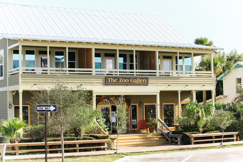 The Zoo Gallery, Grayton Beach, Grand Boulevard