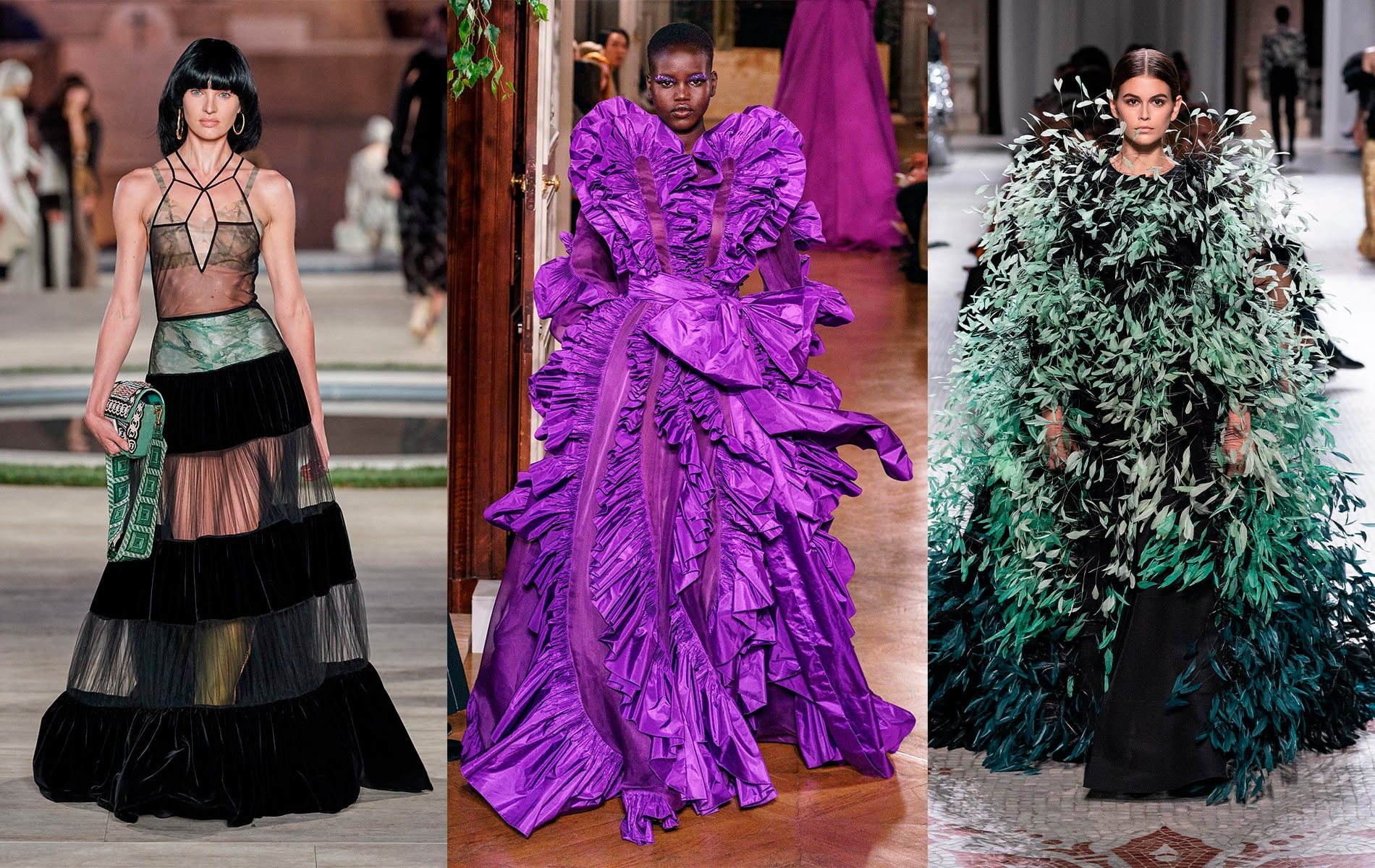 Fendi, Valentino, Givenchy, fall/winter 2019 couture fashion