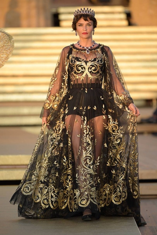 dolce and gabbana, fall/winter 2019 couture fashion