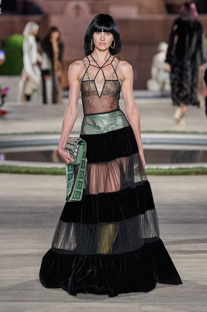 Fendi, fall/winter 2019 couture fashion
