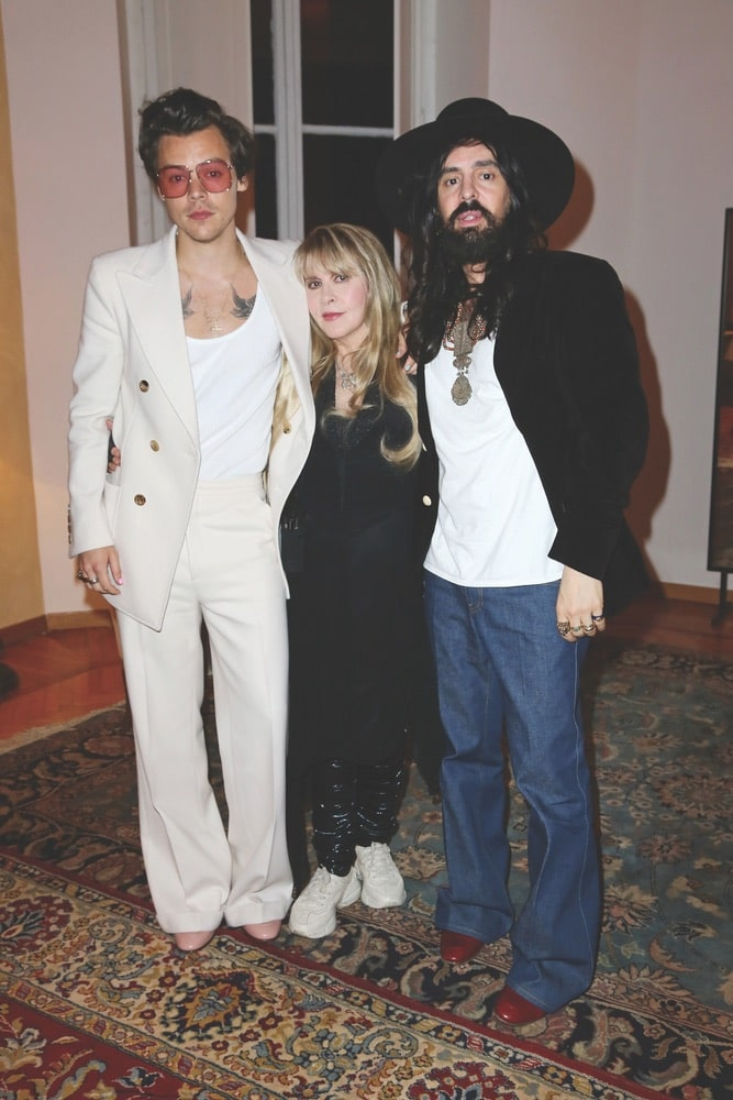 Gucci Cruise 2020 Runway Show & After Party, Harry Styles, Stevie Nicks, Alessandro Michele