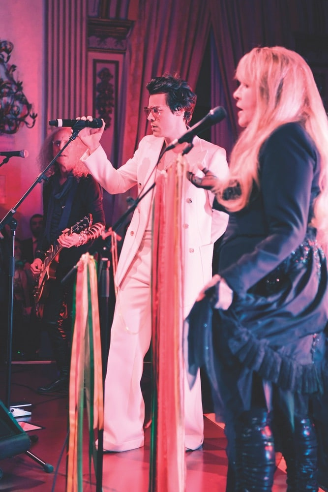 Gucci Cruise 2020 Runway Show & After Party, Harry Styles, Stevie Nicks