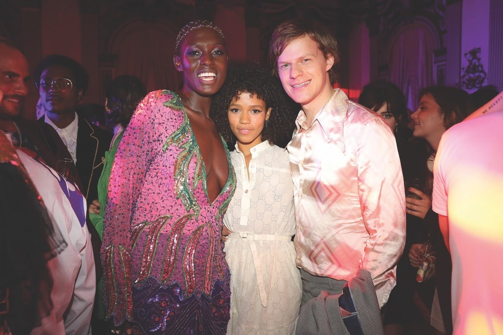 Gucci Cruise 2020 Runway Show & After Party, Jodie Turner-Smith, Taylor Russell, Lucas Hedges