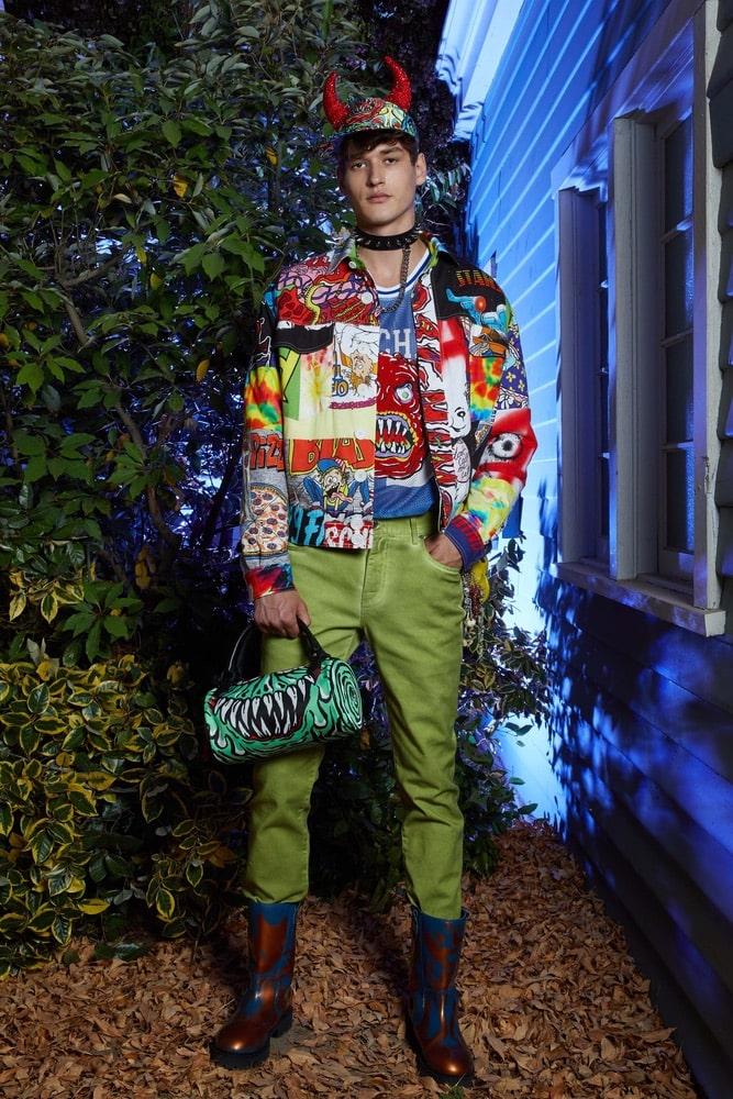 moschino, resort 2020 fashion week, jeremy scott