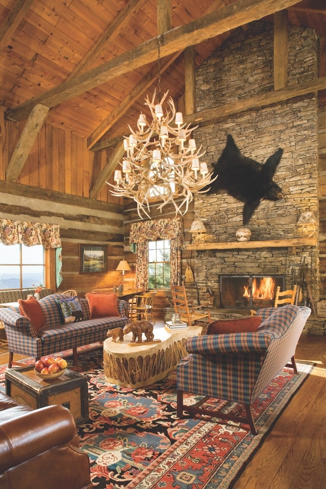 With rustic and cozy lodge accommodations and breathtaking vistas outside, a stay at The Swag near Waynesville, North Carolina, will not disappoint. | Photo courtesy of The Swag