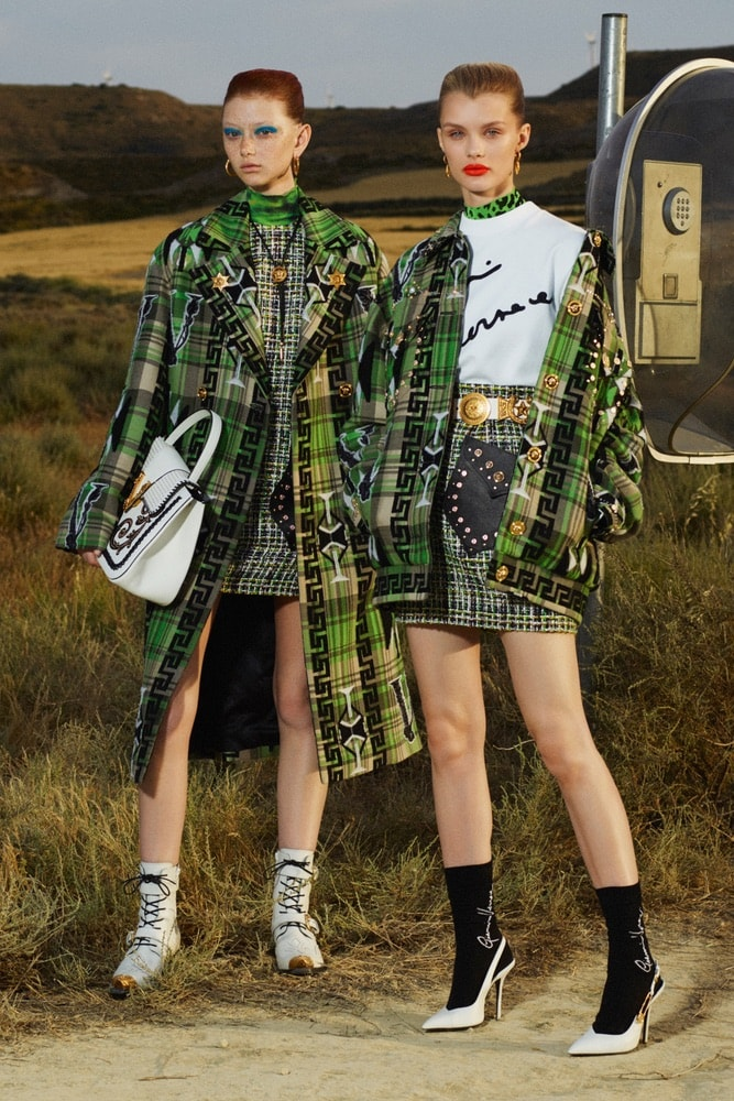 versace, resort 2020 fashion week, donatello versace