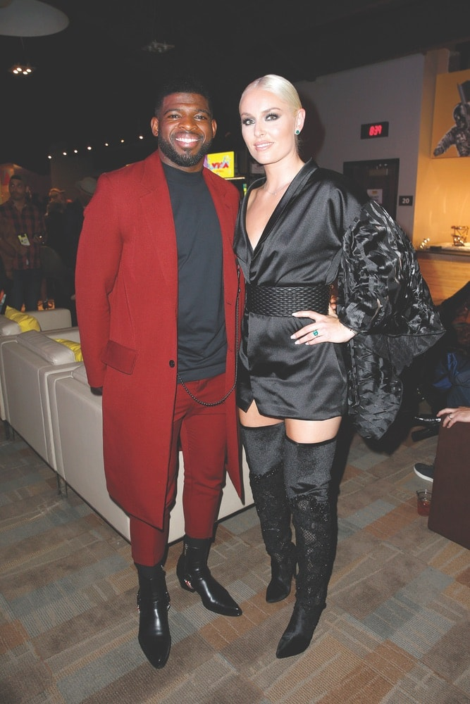 2019 MTV Video Music Awards, P. K. Subban, Lindsey Vonn